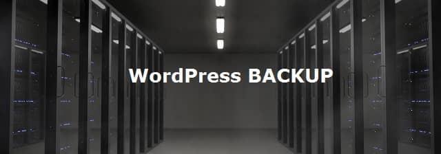 Comment faire un backup WordPress sans Plugin ?